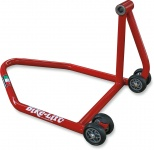 SINGLE-SIDED SWINGARM LEFT RS-16 REAR STAND RED