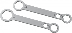 CRUZTOOLS AXLE WRENCH COMBO 14X22X27 MM
