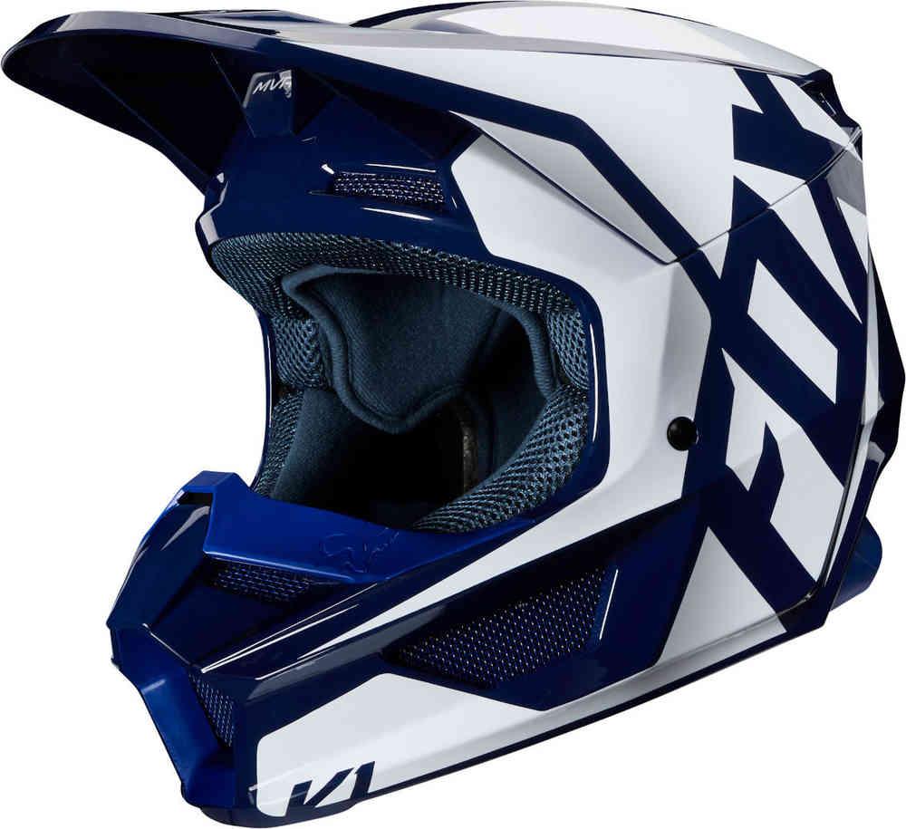 קסדת שטח לילדים -Fox V1 VI Prix Youth Motocross Helmet