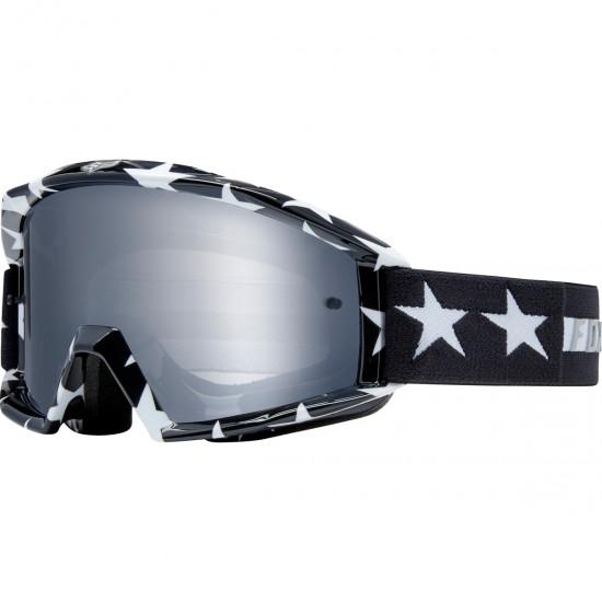 Main Stripe Black - White / Chrome Mirrored